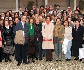 """Mª Ángeles Esteban Abad, Vicerrectora de Relaciones Internacionales de la Universidad de Murcia: """"El programa Erasmus es enriquecedor tanto a nivel personal como académico"""""""