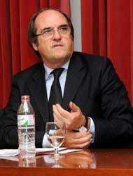 Ángel Gabilondo, presidente de la Conferencia de Rectores de las Universidades Españolaso