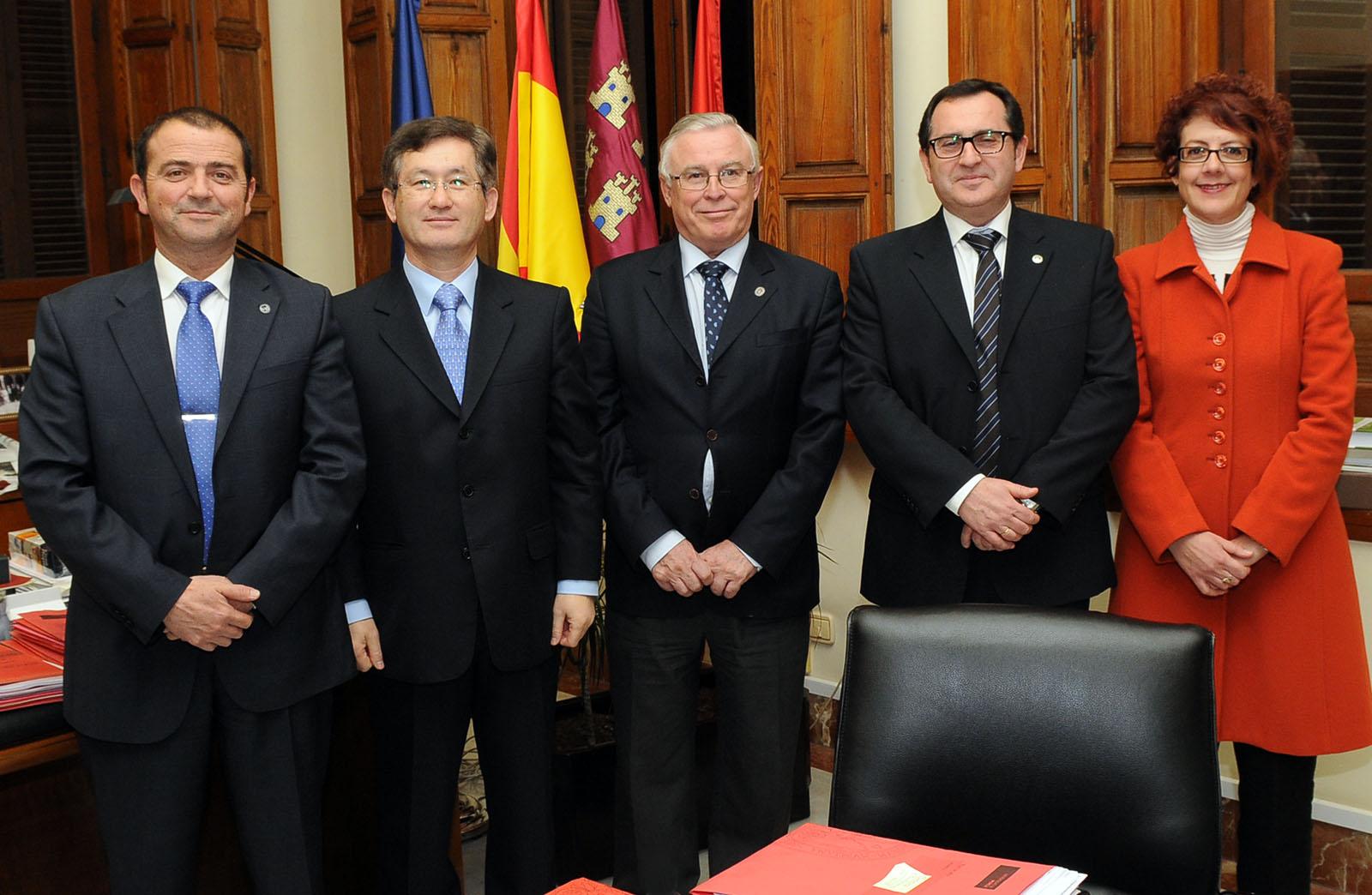 embajador Corea Sur 1