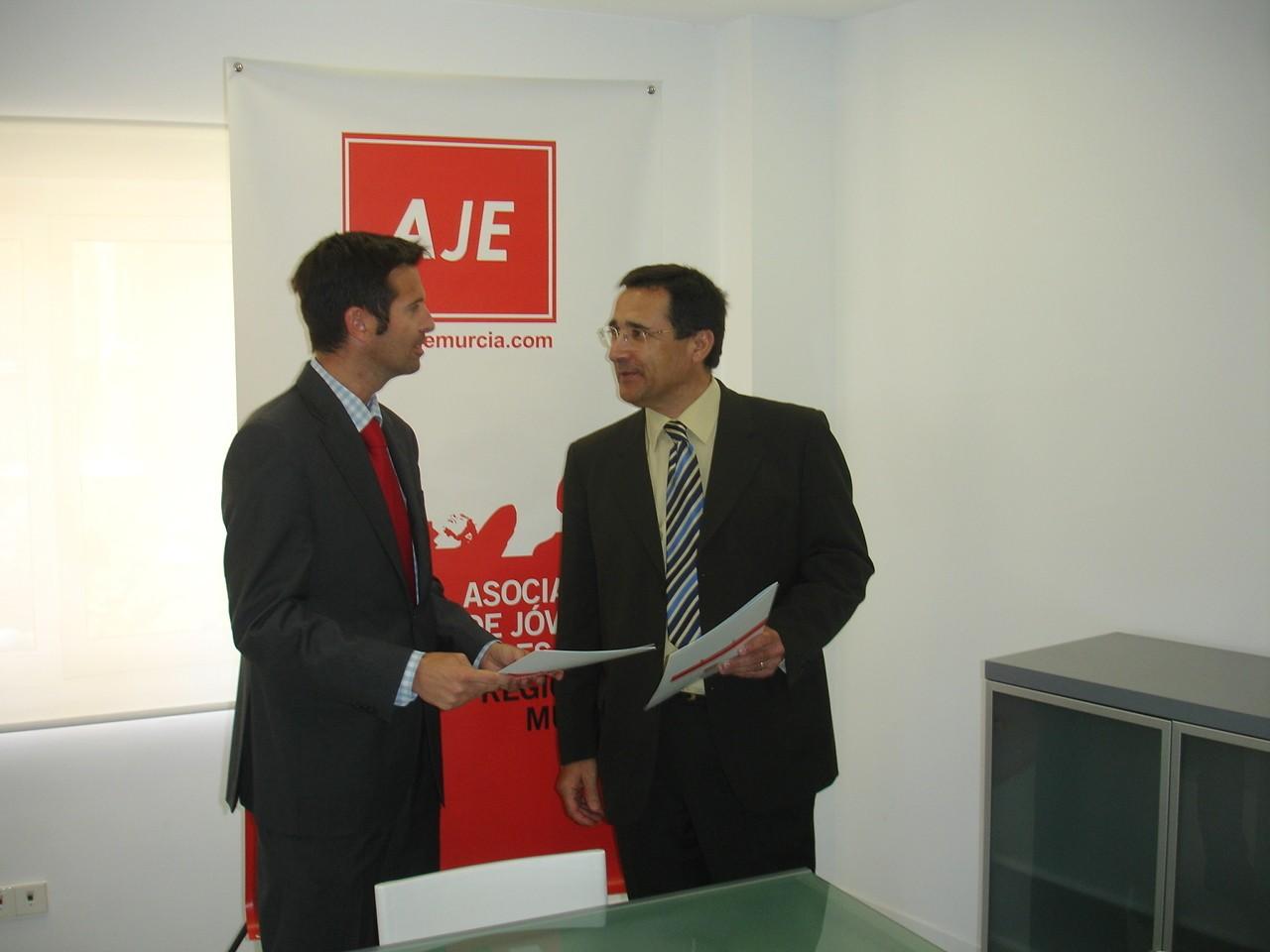 Cátedra Emprendedores y Aje Murcia (1)