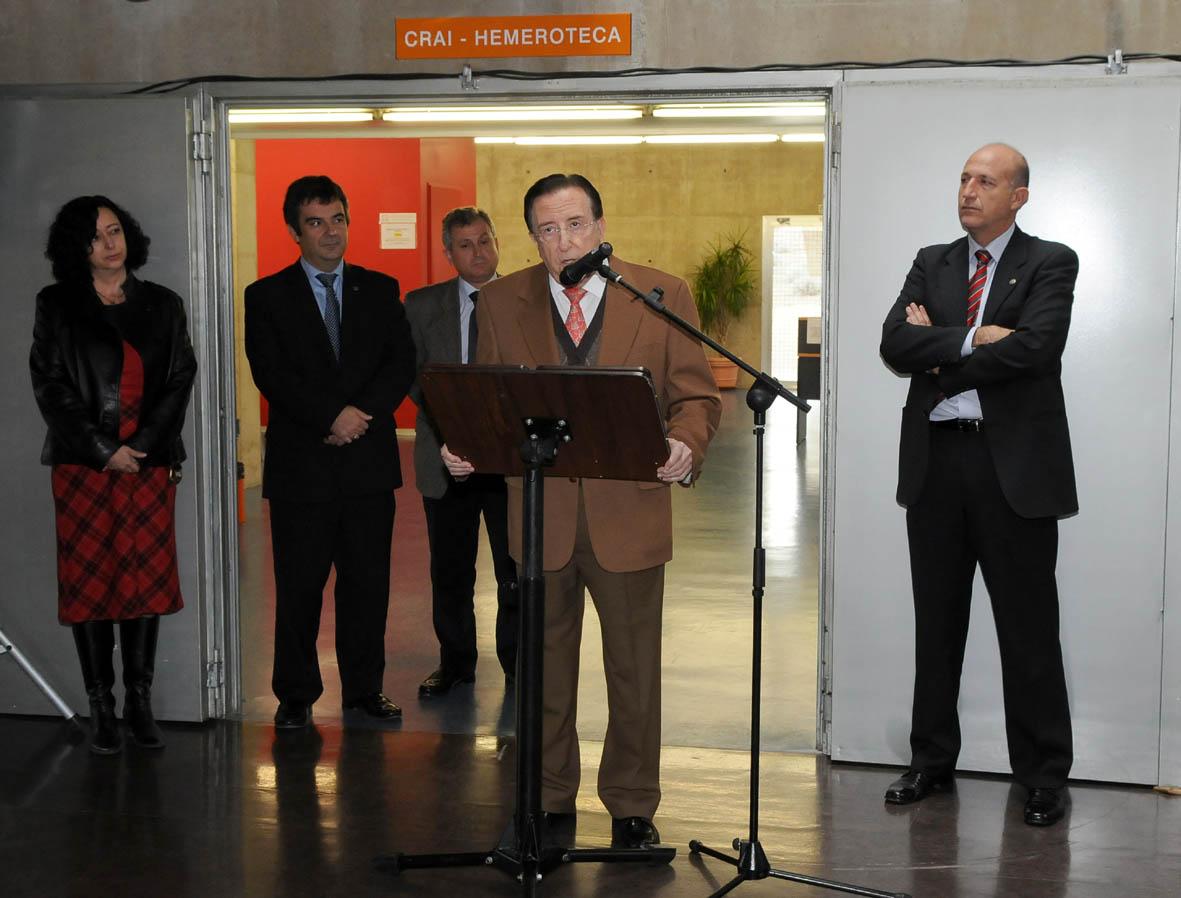 CRAI inauguración Económicas