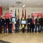 Entrega de premios concurso cartel TUI-LATBUS. Centro Social Universitario. Campus Espinardo