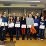 Entrega de premios Olimpiada Matemáticas. Salón de actos F. Matemáticas. Campus Espinardo
