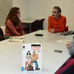 """Club de Lectura de Cómic: """"Como conejos"""" de Ralf Köing. Hemeroteca Campoamor. Campus Merced"""