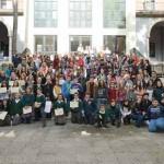 """Entrega de acreditaciones del programa """"Alumnos Mediadores"""". Hemiciclo Facultad de Letras"""