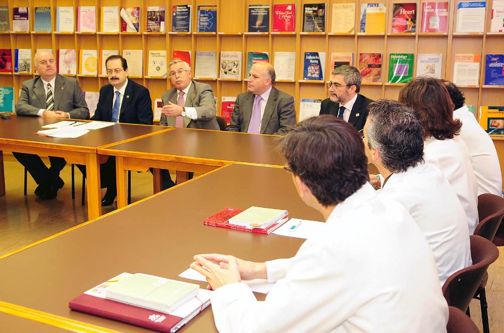 Visita Institucional Hospital Morales Meseguer