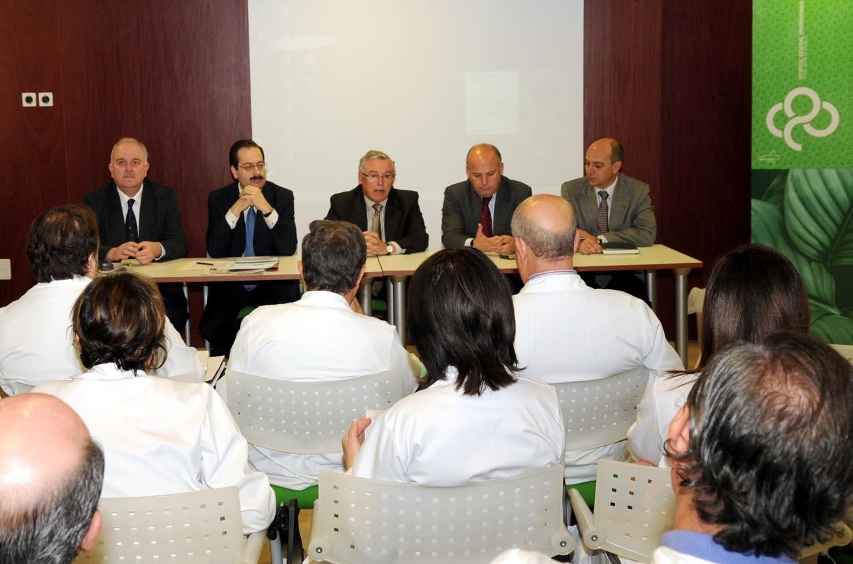 Visita Institucional Hospital Reina Sofia