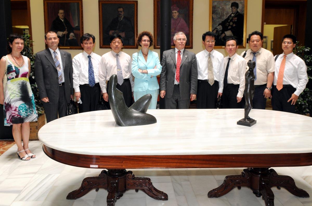 Visita Universidad China