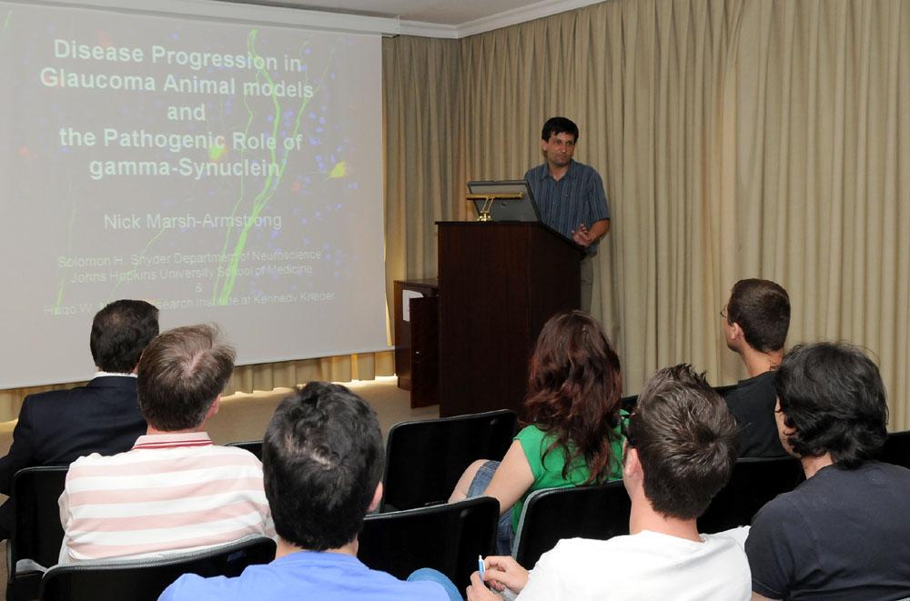 conferencia Glaucoma Medicina