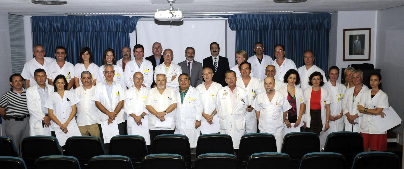 credenciales médicos H, Arrixaca
