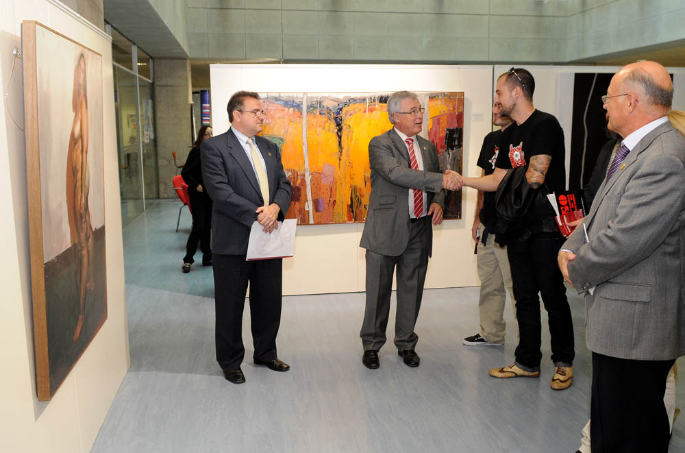 exposición premio Toledo Puche