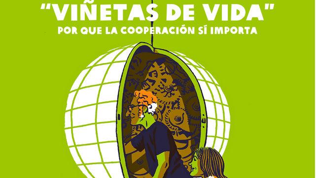 """""""Viñetas de vida"""" reivindica en la Universidad de Murcia el mundo de la cooperación"""