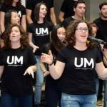 Recital de la Coral Universitaria. Hall Biblioteca Mª Moliner. Campus Espinardo