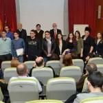 Entrega prtemios II Olimpiada Filosofía. Salón 'Luis Vives' Campus Espinardo