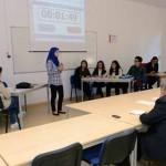 Cuartos de Final de la 'II Liga de Debate de Bachillerato de la Región de Murcia'.. Aula 1.16bis Aulario Campus Merced