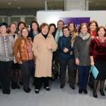 """Inauguración de la Exposición """"Mujeres en la Universidad de Murcia: Presencia, visibilidad y participación"""". Hall Biblioteca General Campus Espinardo"""