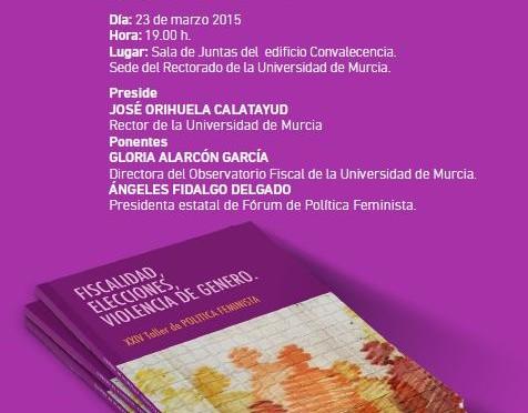 Mesa redonda: Fiscalidad y violencias de género