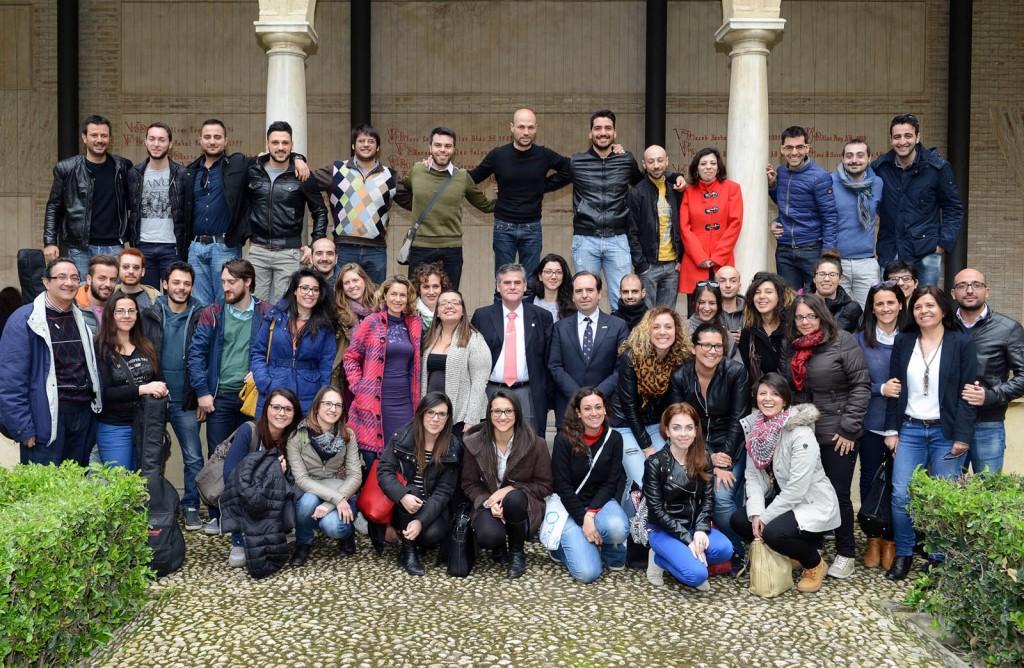 Alumnos italianos