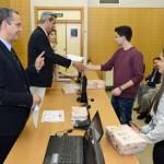 Entrega de premios Olimpiada Física '15. Sala Grados F. Química