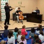 Concierto didáctico Señorita Flauta soñaba ser maestra. Sala de Ámbito Cultural, sótano 1º, El Corte Inglés