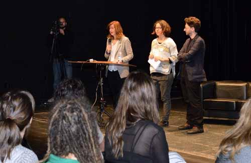 Inauguración  Festival Internacional Media Art Futures. Centro Párraga de Murcia