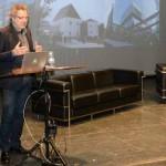 Conferencia de Oliver Grau. Centro Párraga de Murcia