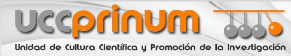 Programación de actividades de la Unidad de Cultura Científica-Prinum