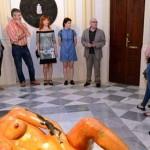 Inauguración Sala capilla: Exposición Inidi-dual de Pepe Yagües y Carmen Baena. Rectorado