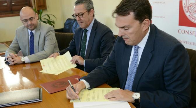 La Universidad de Murcia y Murcia Emprende se unen para fomentar el emprendedurismo gracias al Consejo Social
