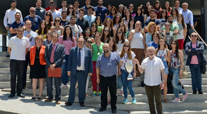 La Facultad de Educación gana el Trofeo Rector de la Universidad de Murcia