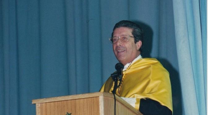 Federico Mayor Zaragoza participa en el ciclo Reencuentro con nuestros Honoris Causa