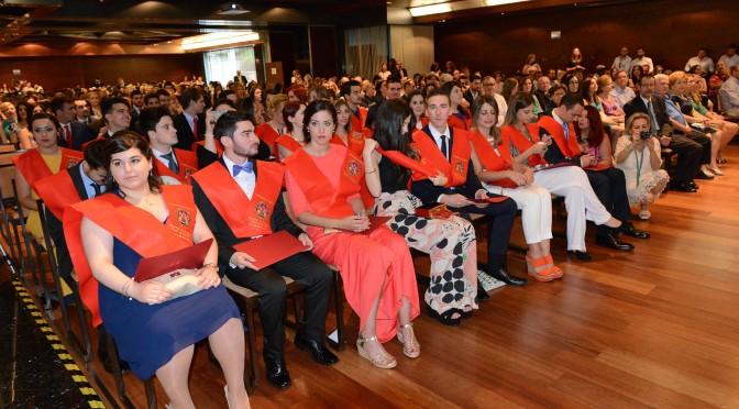 Graduación en derecho (Grupos III, IV y V)