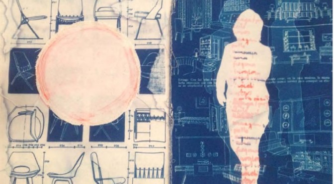"""Andrea Hauer inaugura su exposición """"Blue Homescape"""""""