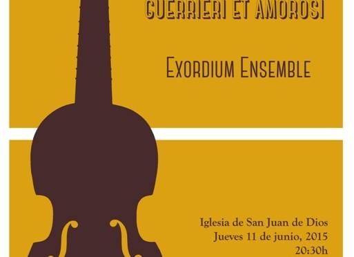 La agrupación Ensemble Exordium interpreta un concierto de Monteverdi