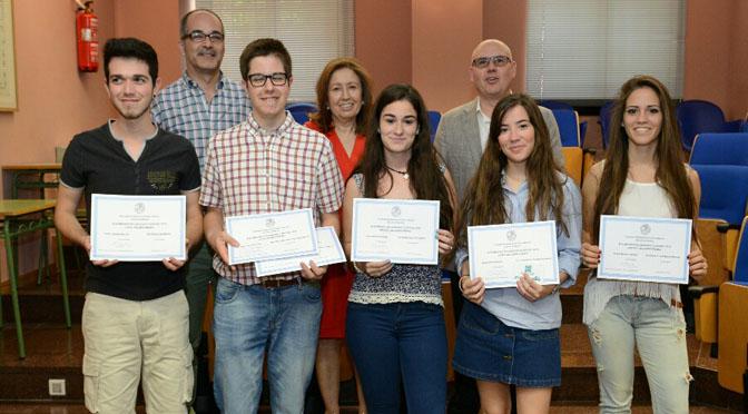 Entrega de premios a los ganadores de la Olimpiada de Latín y Griego