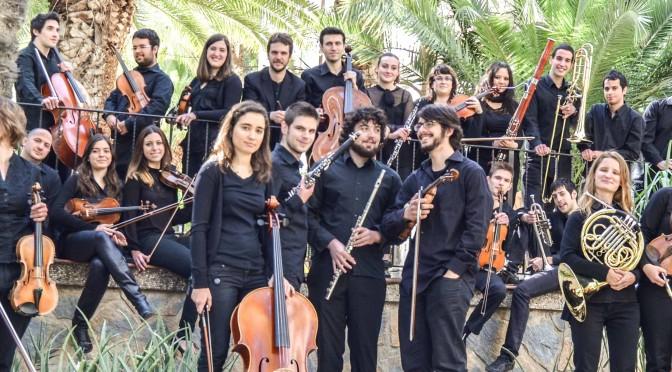 Actuación de la Orquesta Universitaria en el Día Europeo de la Música