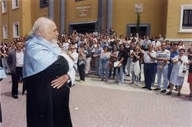Conmemoración del vigésimo aniversario de doctorado Honoris Causa a Paco Rabal