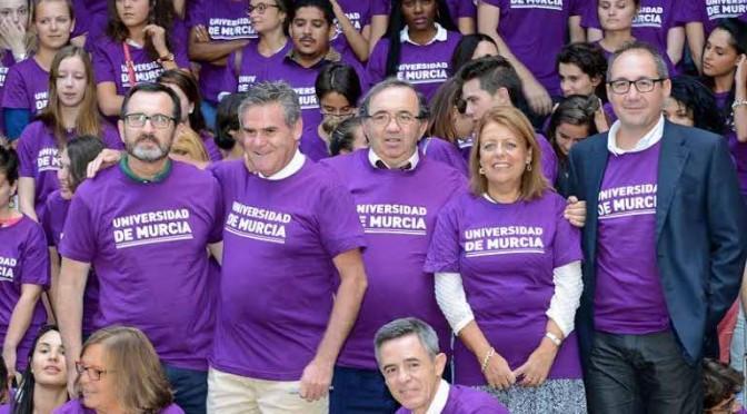 La Universidad de Murcia da la bienvenida a los 500 estudiantes internacionales del primer cuatrimestre