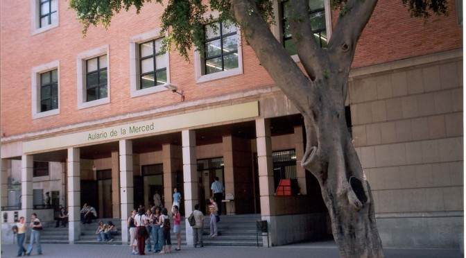 La final del I Concurso de Bandas, en el campus de la Merced