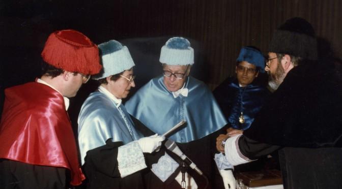 Homenaje al Doctor Honoris Causa Emeterio Cuadrado