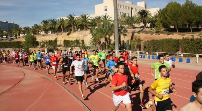 Se celebra mañana viernes la IV Carrera de Bienvenida de la Universidad de Murcia