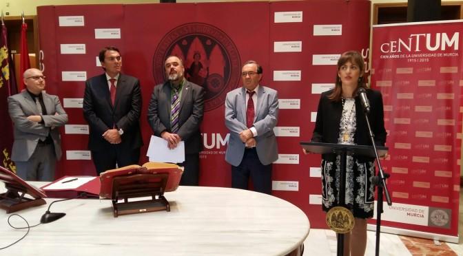 Mónica Galdana Pérez toma posesión de su cargo como Vicerrectora de Comunicación y Cultura