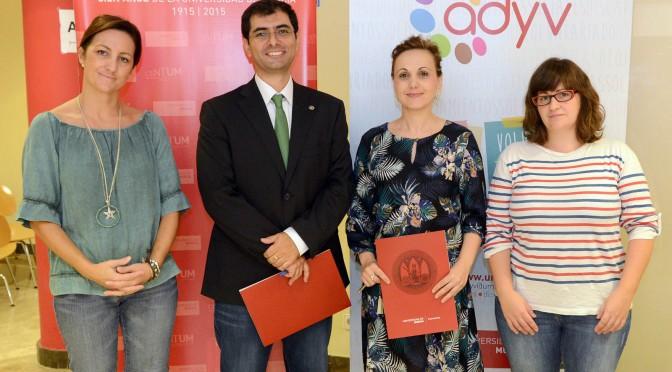 estudiantes de la universidad de murcia prestarán asistencia a enfermos de alzheimer de molina de segura