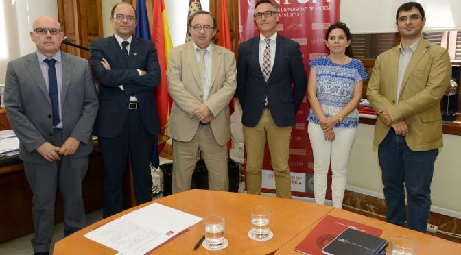 La Universidad de Murcia colaborará con la concesionaria del tranvía