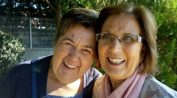 Ángela y Estaquia Jiménez Jiménez, ganadoras del premio Solidario Anónimo 2015