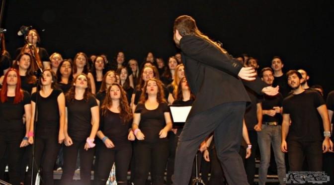"""Última actuación del año con la temática """"Rumbo a Broadway"""" de la Coral Universitaria"""