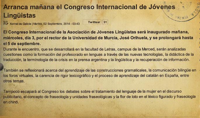 2014-09-04 Xornal de Galicia