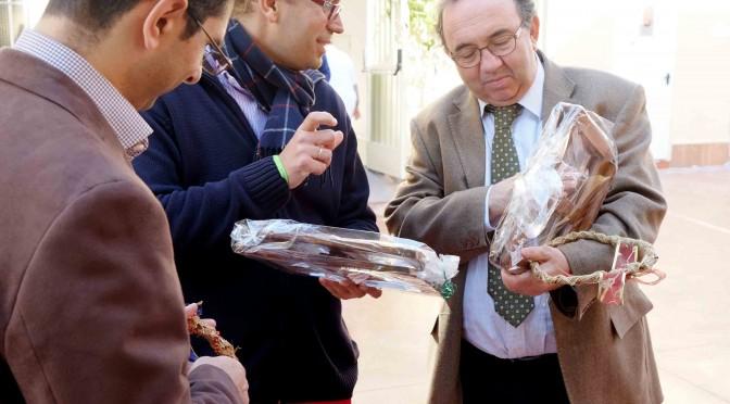 Visita del rector de la Universidad de Murcia a las instalaciones de Jesús Abandonado