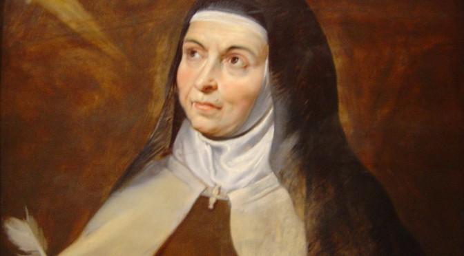 Poemas del Siglo de Oro para conmemorar el nacimiento de Santa Teresa de Jesús