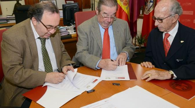 La Real Academia de Medicina trabajará en colaboración con el Centro de Estudios en Bioderecho de la Universidad de Murcia
